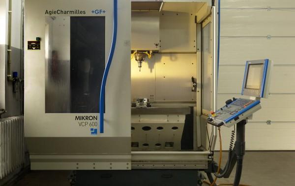 Frezarka CNC pionowa MIKRON VCP 600