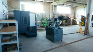 Produktionshalle von Reszka
